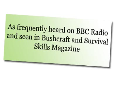 bushcraft and the BBC