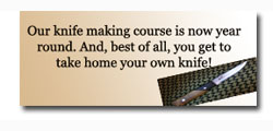 Knife making course