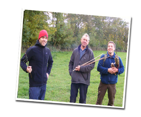 Hand drill bushcraft course